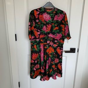 floral printed ZARA dress
